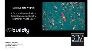 Buildy Data Intelligence to for Better Data and Actionable Insights for Private Equity Firms